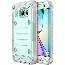 Galaxy S7 Edge Case, E LV Samsung Galaxy S7 Edge Hybrid Armor Protection Screen