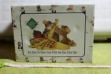 "Charming Tails "" It'S Nice To Have You With Me Ear To Ear "" Le, (Dean Griff) Nib"