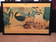 Peter Kitchell Signed Limited Ed ( Bommerang Arrows)  Large- Very Nice !