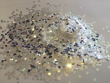 Mezcla de brillo hermoso arte en uñas Holo estrellas para Acrílico y Gel de Perla aplicación
