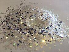 Beautiful Glitter Mix Nail Art Holo Pearl Stars  For Acrylic & Gel Application