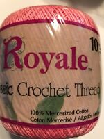Crochet Thread Size 10 Cotton Crochet Craft Aunt Lydias South Maid Red Heart
