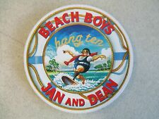 BEACH BOYS : JAN AND DEAN HANG TEN COMPACT DISC IN BOXART COLLECTIBLE TIN 017