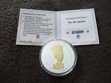 """1 x Medaille, Sammlung, Lot, """"Das alte Ägypten; Nofretete"""""""