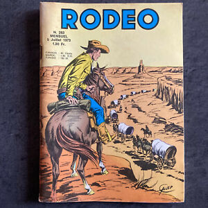 RODEO N° 263 - LUG 1973 - TBE