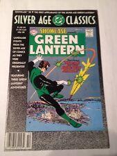 silver age classics 1992 showcase green lantern # 22