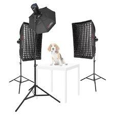 Pet Portrait Photography Lighting Kit Dog Studio Flash Lights Photo Animal Shoot