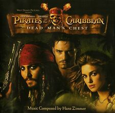 Pirates of the Caribbean Dead Man's Chest Original Soundtrack CD by Hans Zimmer