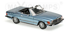 Minichamps 940033430 - MERCEDES BENZ 350 SL (R107) - 1974 LIGHT BLUE METAL  1/43