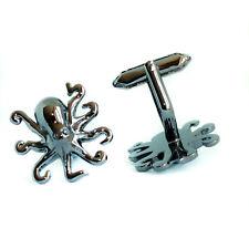 Black Octopus Cufflinks