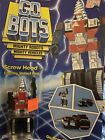 1983 Tonka GoBots Go Bots Screwhead Drill Action Figure On Card Unopened