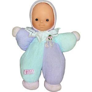 Vintage Zapf Creation Baby Doll Vinyl Plastic Head Fabric Cloth Body 1970s? 28cm