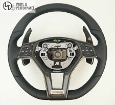 LE TEF® LEDER CARBON SCHWARZ Lenkrad für Mercedes-Benz AMG W212 W204 R172 R231