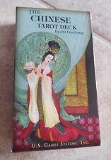 THE CHINESE TAROT DECK CARDS BOOK WISDOM ART By Jui Guoliang ASIAN CAT ResQ