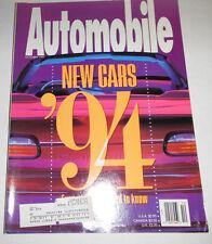 Automobile Magazine New Cars Chevrolet Camaro October 1993 080814R