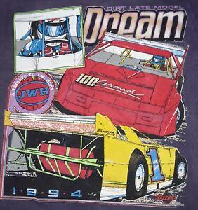 NEW!  Vintage 1994- Eldora Dream  Large T-shirt  dirt late model