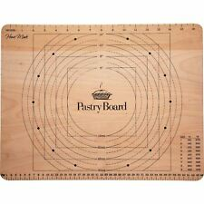 Kitchen Craft Large Wooden Pastry Rolling and Chopping Board with Markings