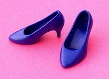 Purple Diana pump shoes fit Franklin Mint Princess Kate Middleton Marilyn doll