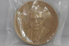 "1980 Canadian Ambassador Kenneth Taylor Commemorative Bronze Medal 3"", #672"