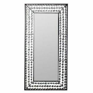 "43"" Decorative Wall Mirror Crystal - Wall Decor - Wall Mirror - Stone Mirror"