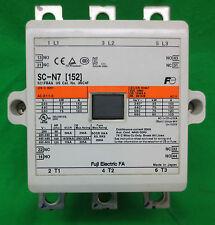 FUJI ELECTRIC SC-N7 [152] 3219COM MAGNETIC CONTACTOR - SC N7 - 24V COIL