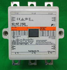 FUJI ELECTRIC SC-N7 [152] 3219COM MAGNETIC CONTACTOR - USED - SC N7 - 24V COIL