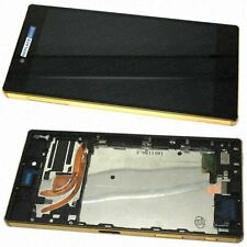 LCD Screen For Sony Xperia Z5 Premium Gold Replacement Assembly Digitizer Frame