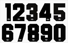 numeri numero x maglia calcio inter,napoli,lazio,parma... in flok anni 90 umbro