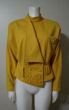 Vintage Yellow Gold Jacket - Bermuda - Size M