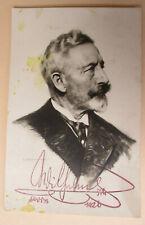 alte Foto AK Kaiser Wilhelm II mit Autograph Faksimile Doorn 1926