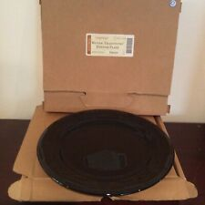 Longaberger Woven Traditions Ebony Pottery Dinner Plates, Nib