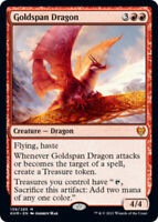 Goldspan Dragon - Foil x1 Magic the Gathering 1x Kaldheim mtg card