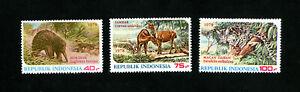 Indonesia Stamps # 1033-1035 VF OG NH