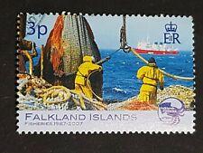Falkland Islands: Falkland Islands Fisheries; 3p value only; fine used