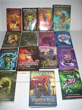 Lot 15 FABLEHAVEN The 39 Clues Pendragon The Wizard of Street Dark Brandon Mull