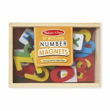 Wooden Magnetic Numbers # 449 ~ Melissa & and Doug ~ ages 3+