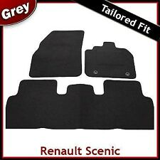 Renault Scenic 2003 2004 ... 2006 2007 2008 2009 Tailored Carpet Car Mats GREY