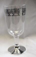Decoración y menaje copas de plástico de color principal transparente para mesas de fiesta