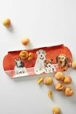 Anthropologie FRENCHIE Dog-a-Day Sally Muir Serving Platter