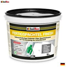 Spachtel masse Q4 Fertigspachtel Finish 15 kg Glätt Flächen Füll Fugenspachtel