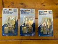 First Watch Window Security Keyed Sash Locks Lot of 3 Brass Plated #1421 NIP