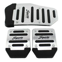 3x Non Slip Manual Transmission Pedal Cover Brake Clutch Accelerator No-drilling