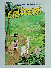 Critters No. 20 October 1987 First Printing January 1988 Fantagraphics NM (9.4)