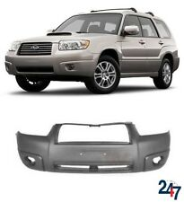 NEW SUBARU FORESTER 2006-2008 FRONT BUMPER WITHFOG LIGHT  HOLES