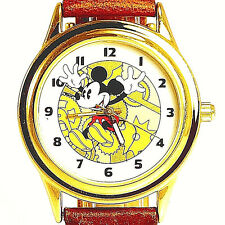 Fossil Disney Mickey Co Rare Collectable Easy Read Mans Watch Li-2007 Under $89