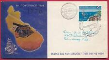 eerste dag envelop Nederlandse Antillen 16 november 1961