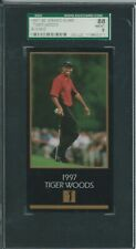 TIGER WOODS 1997 GRAND SLAM VENTURES ROOKIE SGC 88 NMMT 8