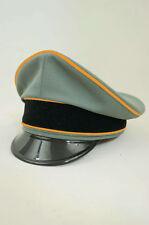 WWII German Cavalry / Recon officer Gabardine Visor cap Waffen Elite