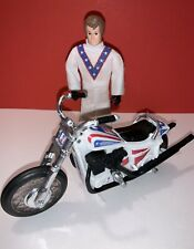 EVEL KNIEVEL STUNT CYCLE CHROME FORKS / VINTAGE / RECONDITIONED NEW DECALS