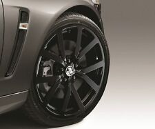 """GENUINE HSVi 20"""" HF20 SET OF 4 GLOSS BLACK FORGED ALLOY WHEELS RIMS ONLY NEW GM"""